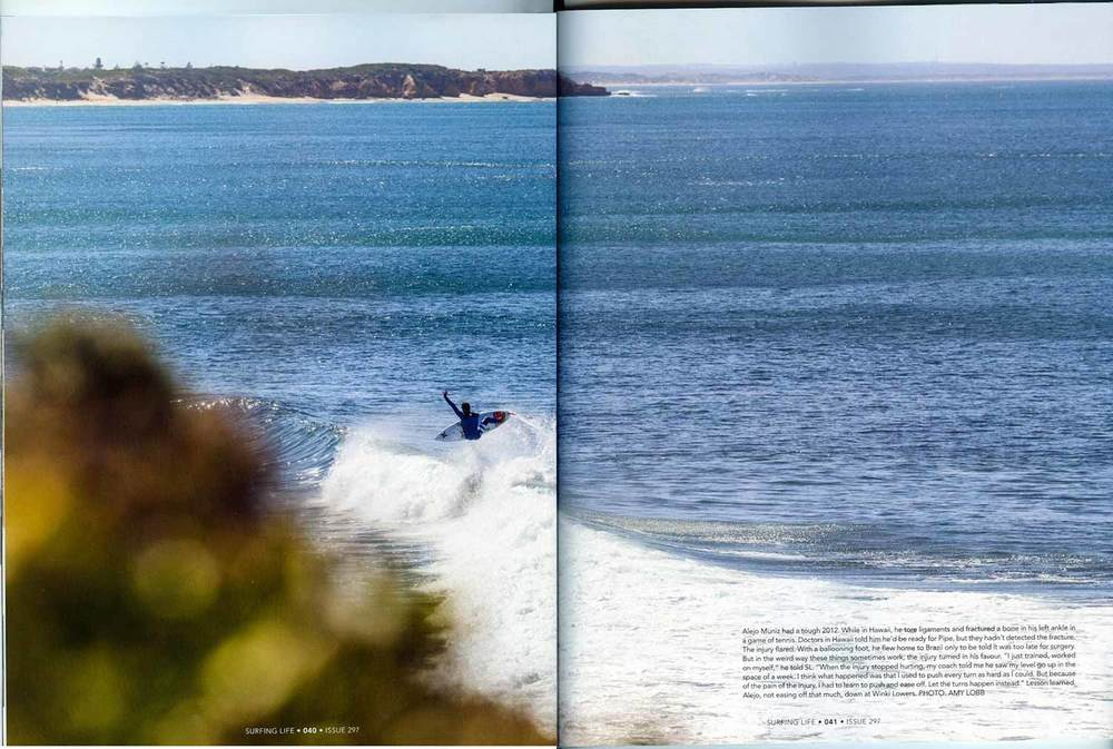 Australian Surfing Life Magazine, Issue 297, June 2013