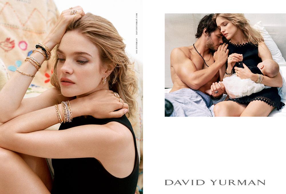 Client: David Yurman Art Direction: Sam Shahid Photographer: Bruce Weber Model: Natalia Vodianova