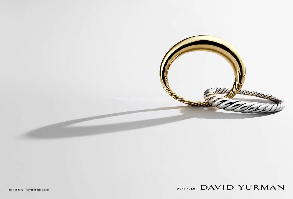 Client: David Yurman Art director: Sam Shahid Photographer: Ilan Rubin Product: David Yurman Pure Form