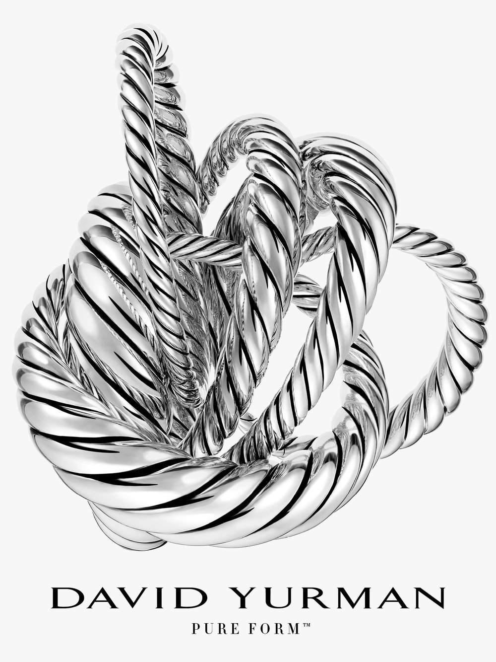 Client: David Yurman Art director: Sam Shahid Photographer: Ilan Rubin Product: Pure Form