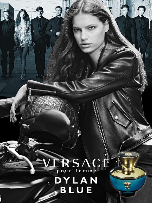 Versace Dylan Blue Pour Femme Donatella Versace Photographer: Bruce Weber Creative Director: Sam Shahid Stylist: Joe McKenna Models: Faretta