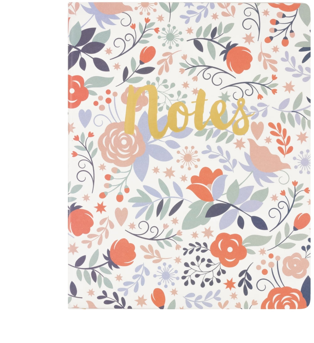 """Floral """"Notes"""""""