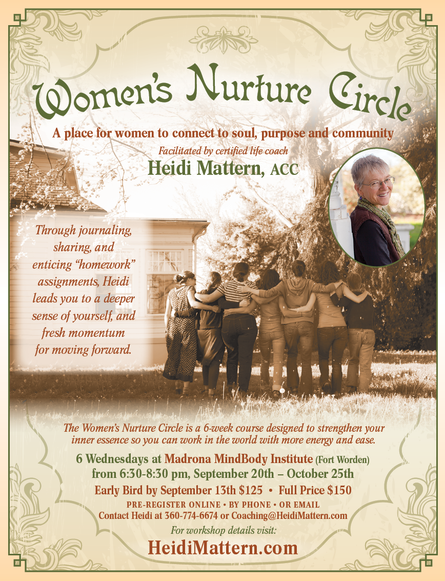 Download Women's Nurture Circle Flyer