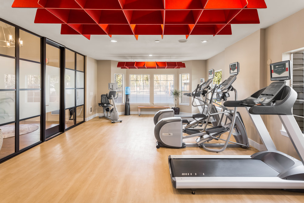 Thrive 2018 Renovation -  Artesia Apartments  Fitness Center