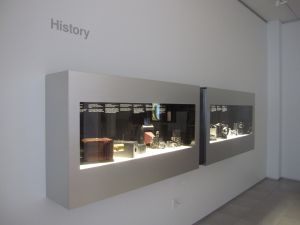 Three Dimentional Wall Mounted Custom Display Cases
