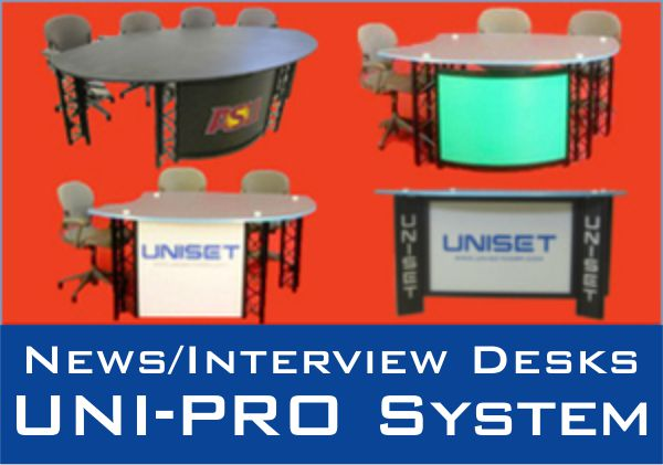 News/Interview Desks UNI-PRO System