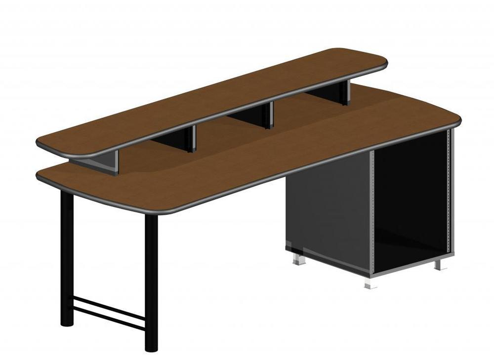 UNISET PRO-EDIT Dual Height Desk 83 w/ Rack $2,290.00