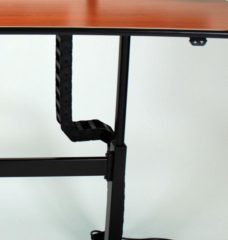 Ergo Mesa height adjustable desk cable carrier and pushbutton.jpg
