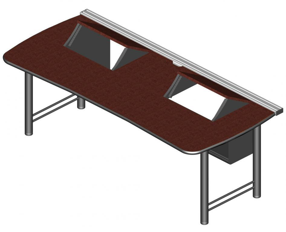 Transform control console desk with 2 separated rackmount openings.jpeg