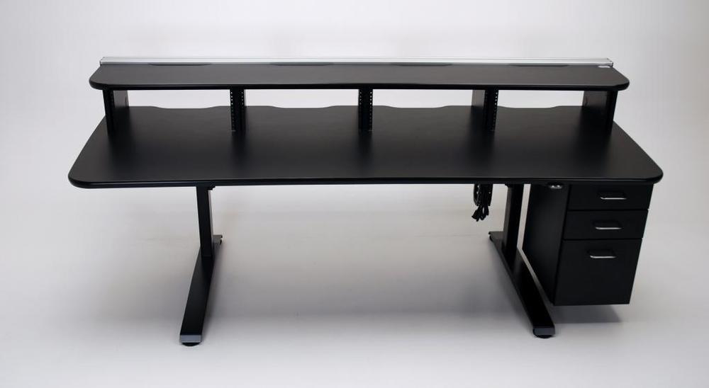 Ergo Vanguard with 5ru rack mount riser and drawer bank (1).jpg