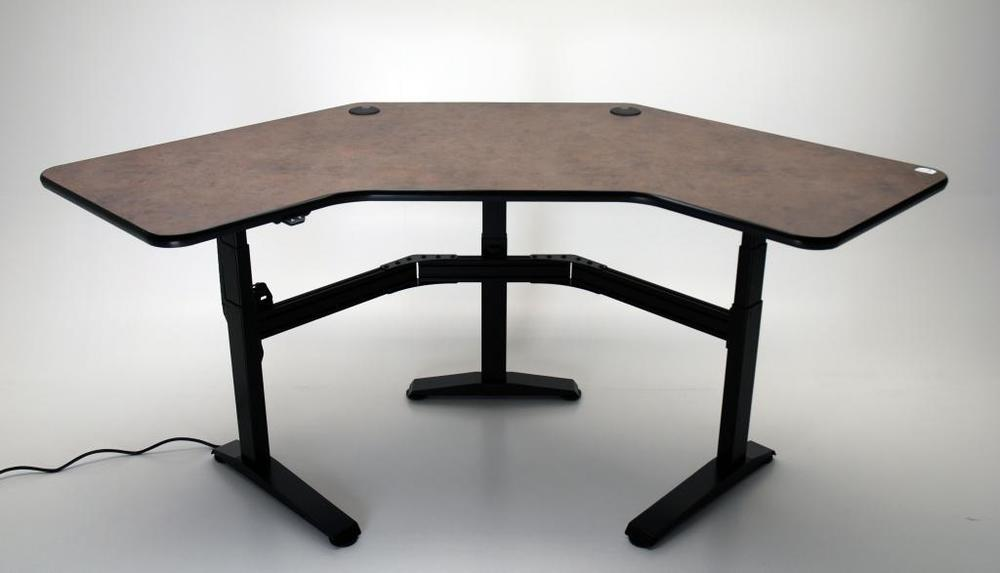 "UNISET PRO-EDIT Ergonomic Single Height ""L2"" Corner Desk $2,900.00"