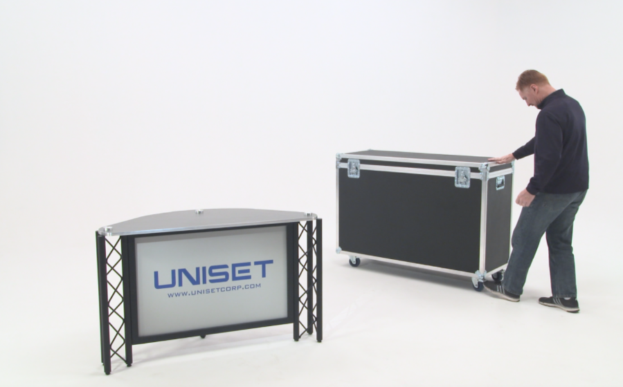UNIPRO Trade Show Exhibit Mobile Carry Case