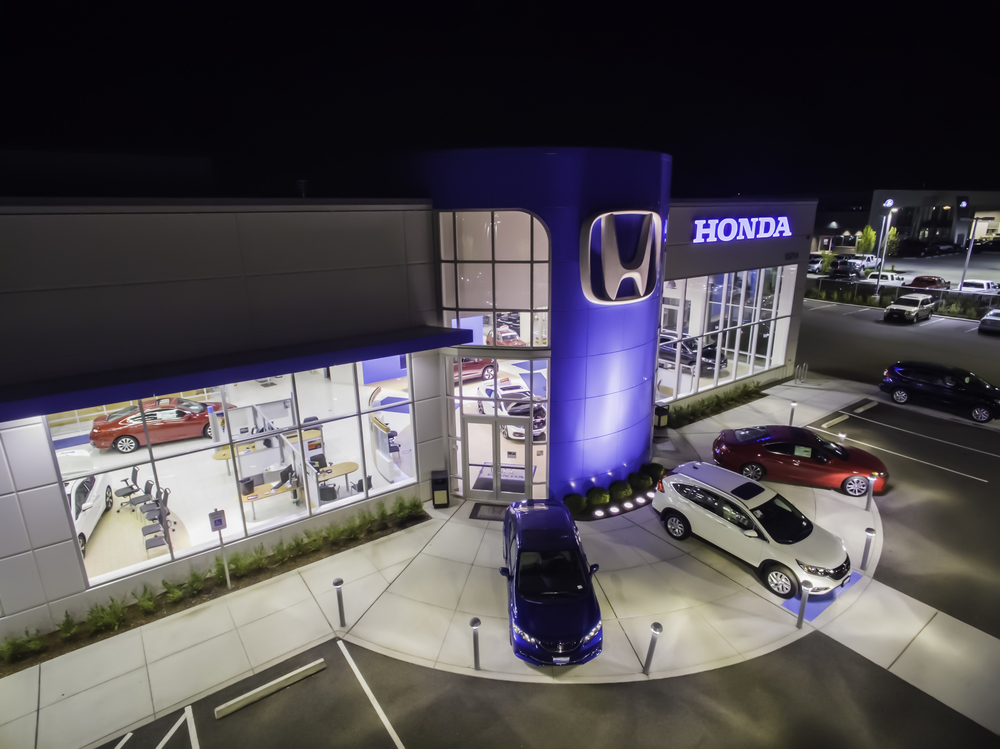 Honda dealership, Marysville