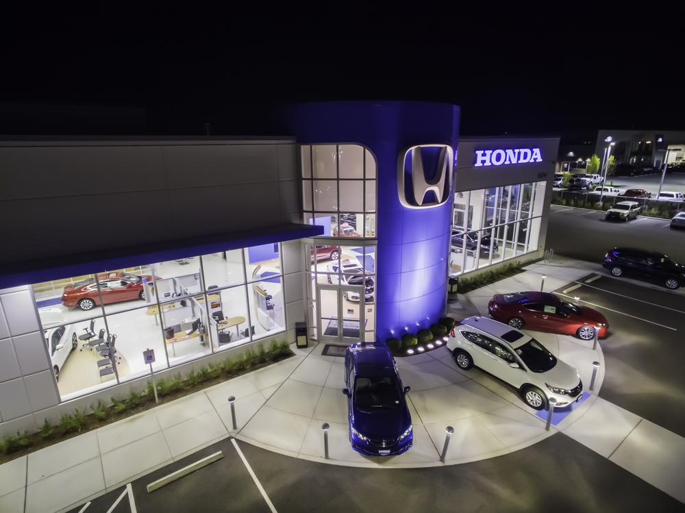 Honda dealership, Marysville