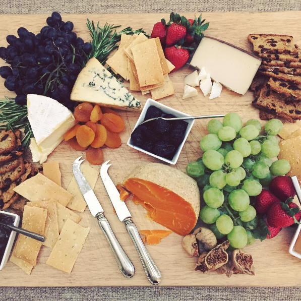 EK's Seasonal Cheese Board
