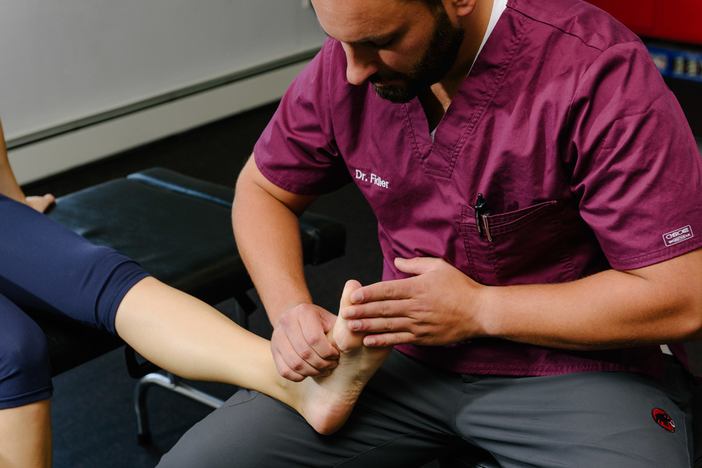 Treating ankle and foot injuries at Functional Rehab.