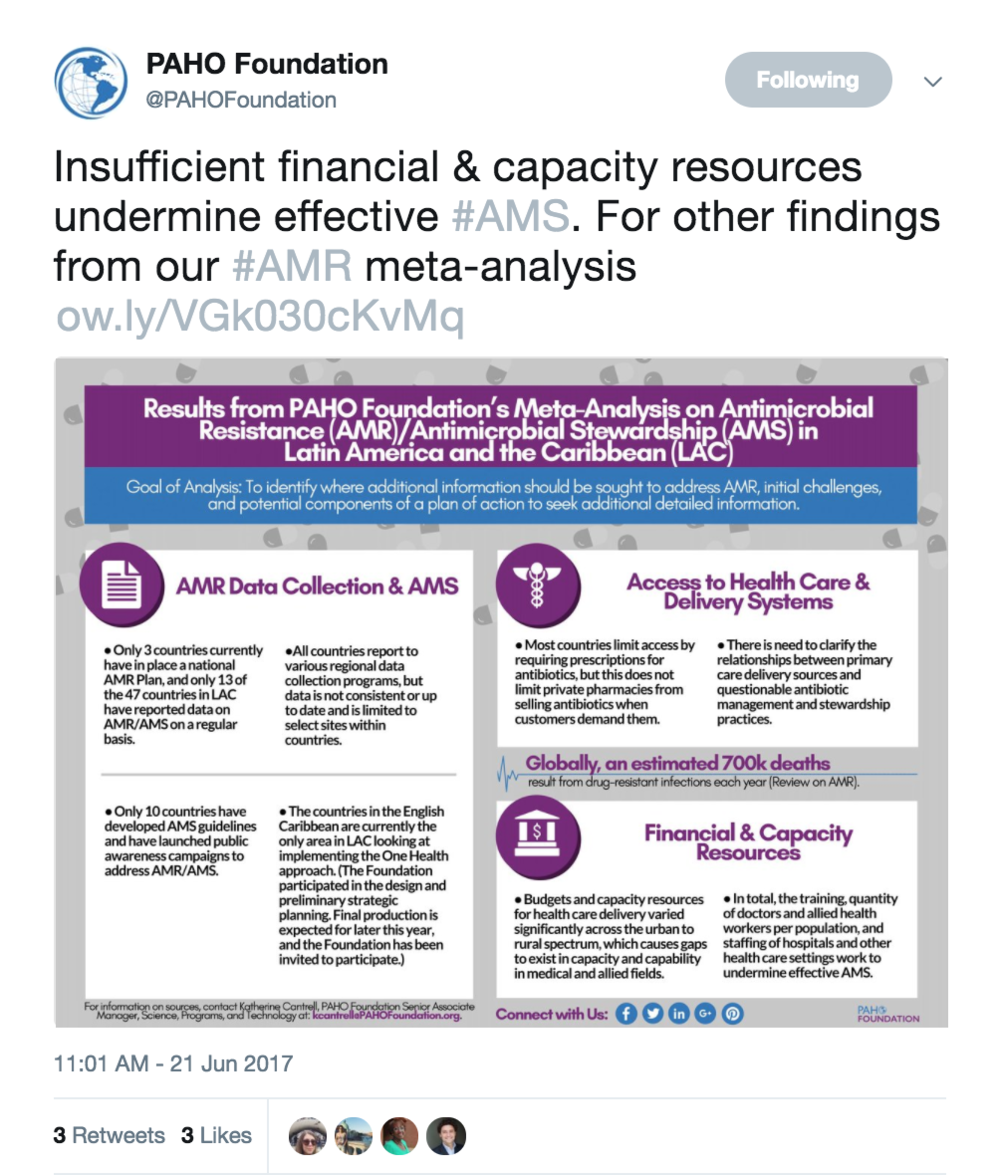PAHO Foundation Twitter Post 2