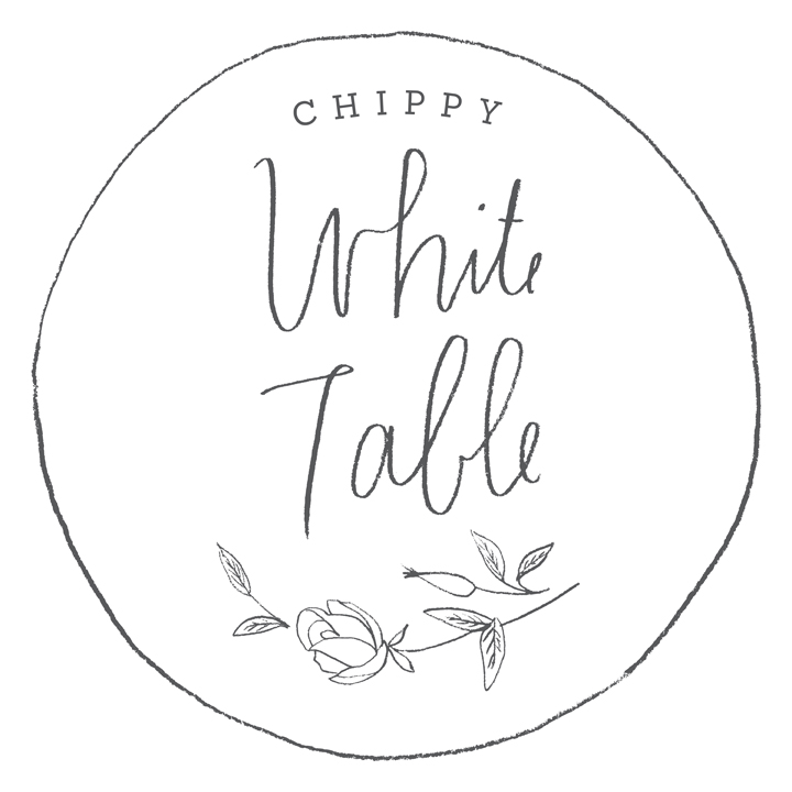 Chippy White Table