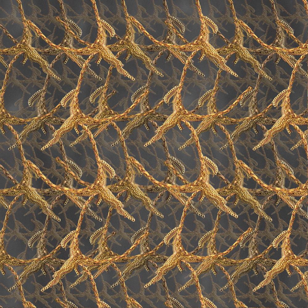 Golden Chains detail.