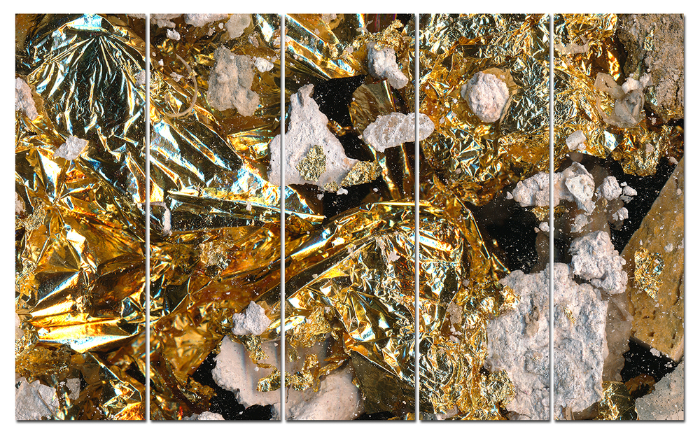 Gold Ore 5-panel painting to debut at Architectural Digest Design Show