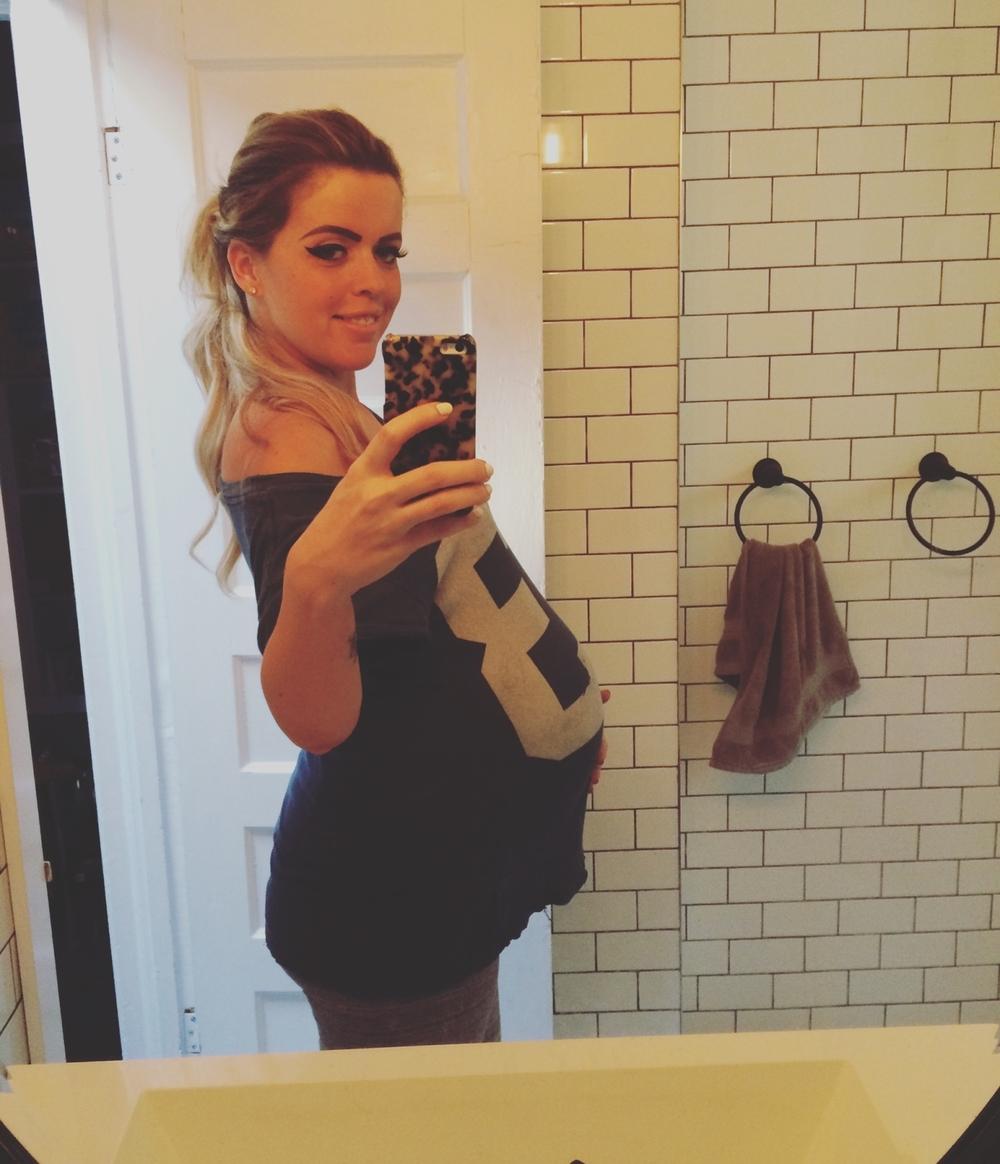 Ashley Pregnant