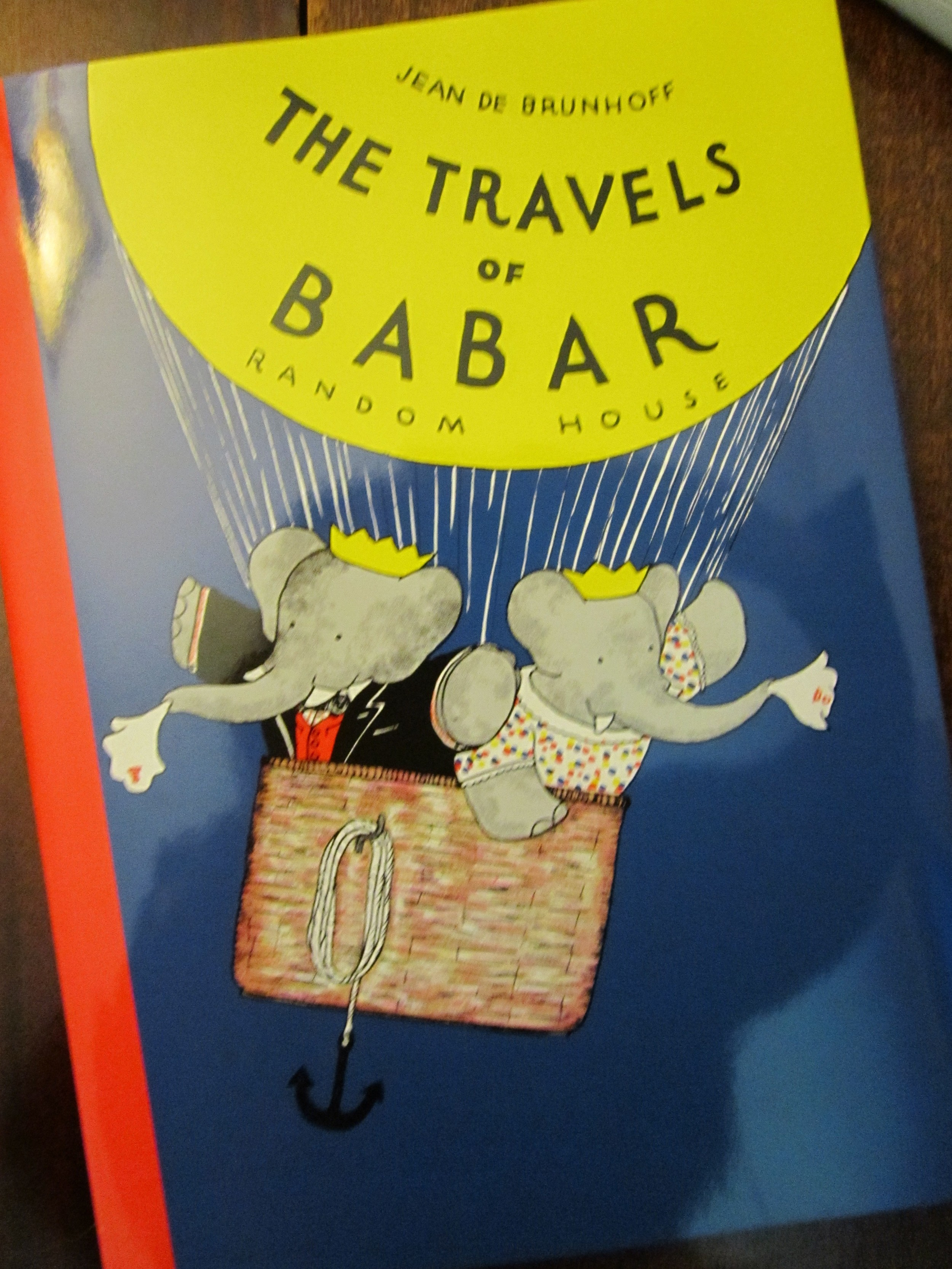 Babar is one of my all time favorite children's books!