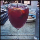 I drank the Sangria last night at sticks and stones.