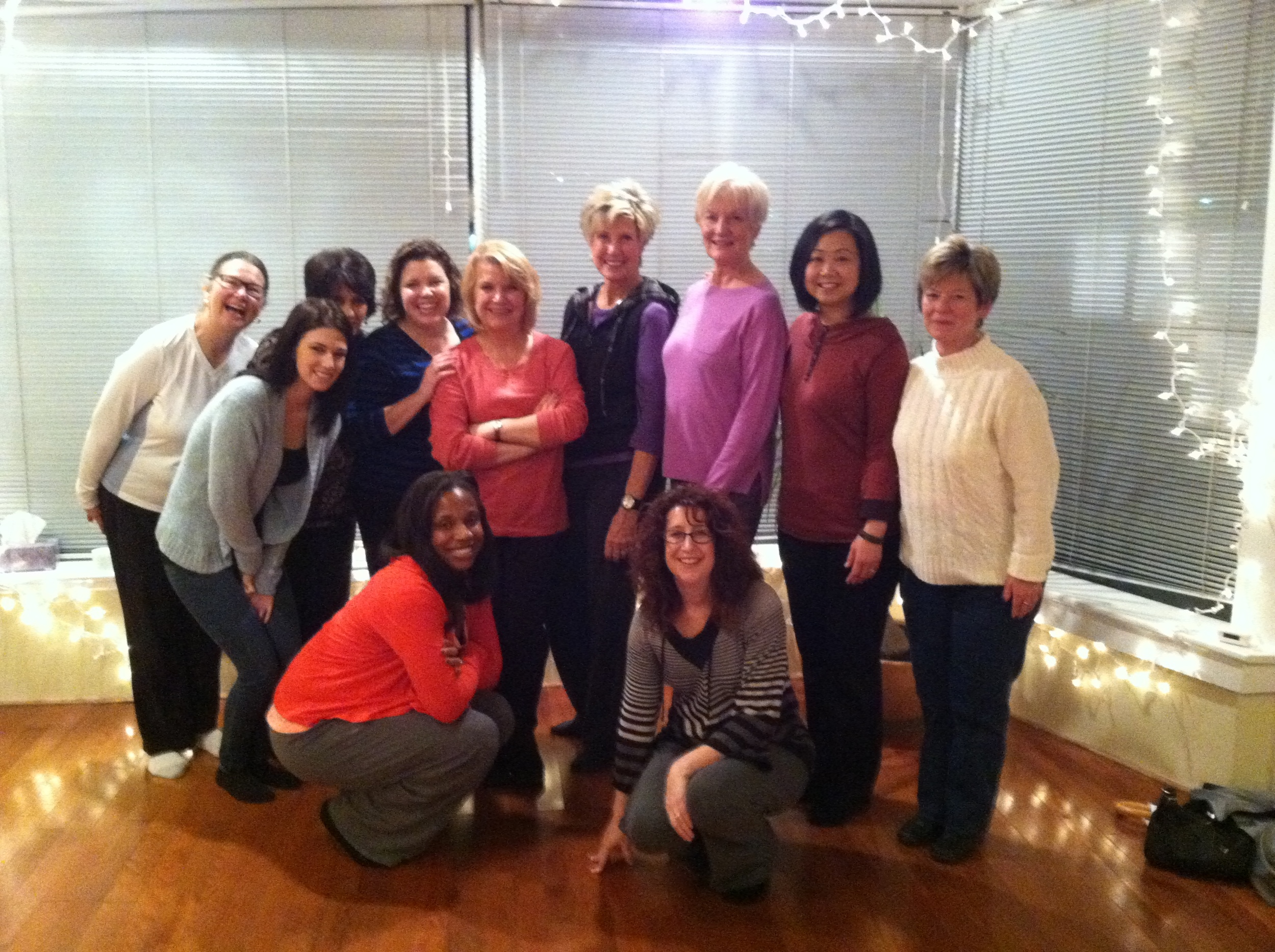 Lovely ladies from Vision and goal setting workshop