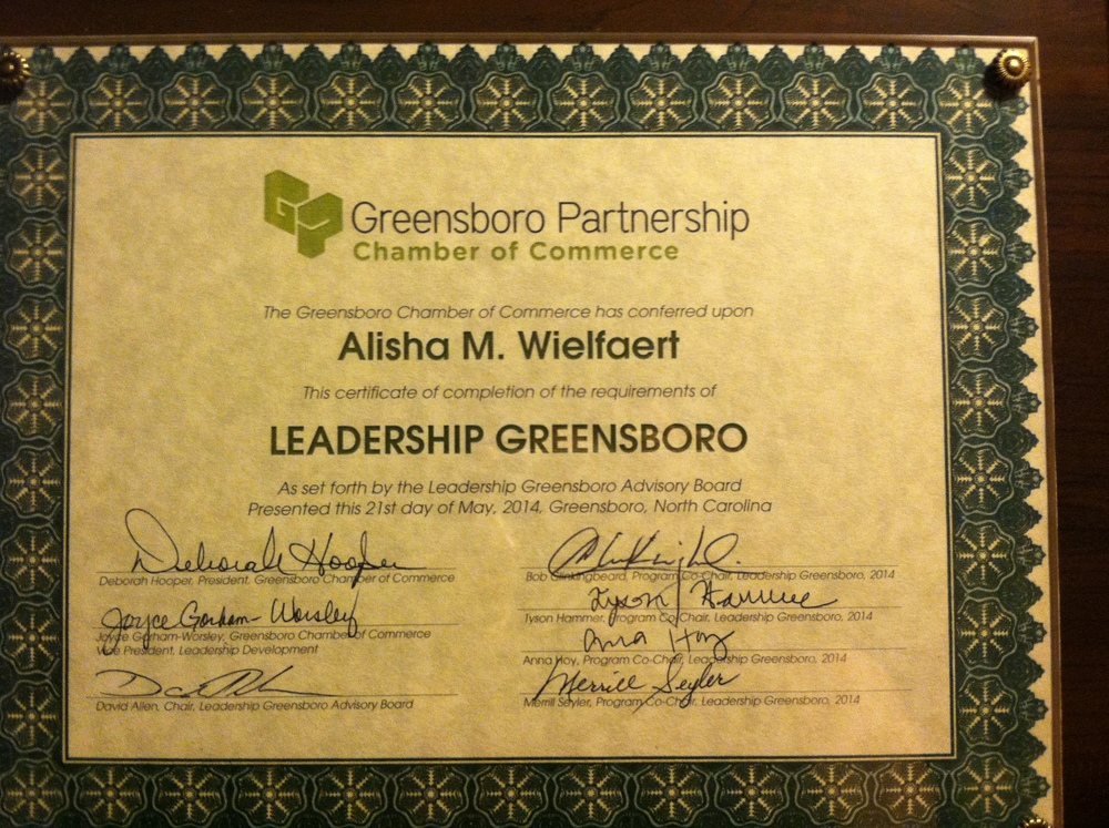 Leaderhip Greensboro