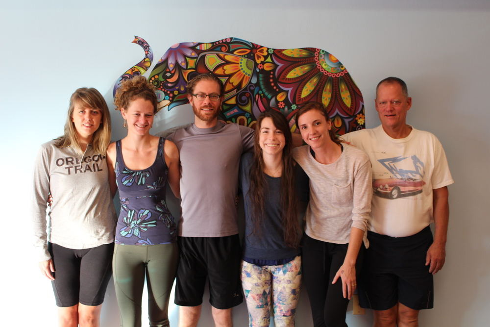 Greensboro Downtown Yoga's First class of Yoga Teachers 2015