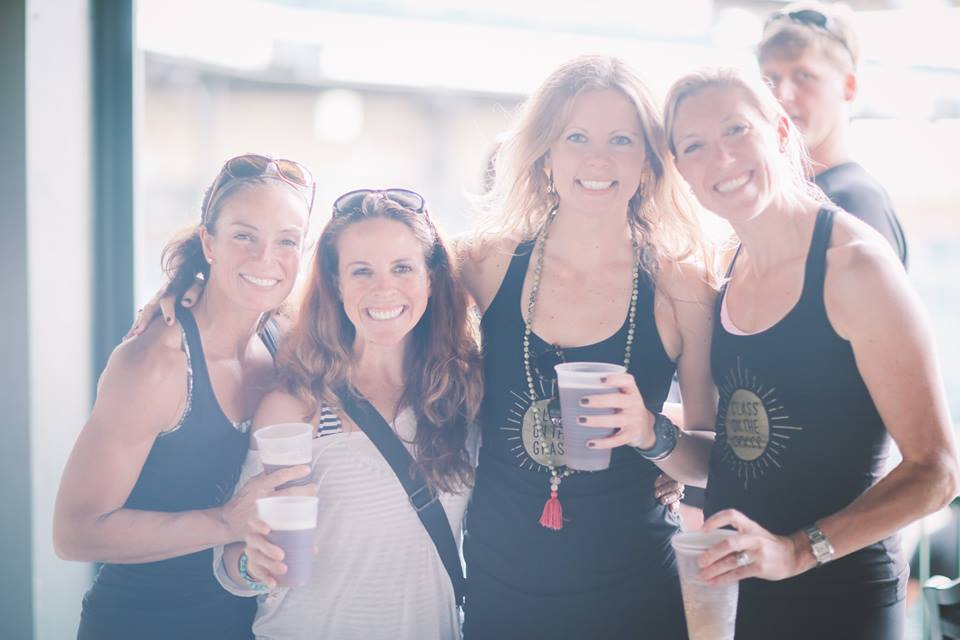 Holli Ilderton with a few also inspiring Lululemon Ambassadors