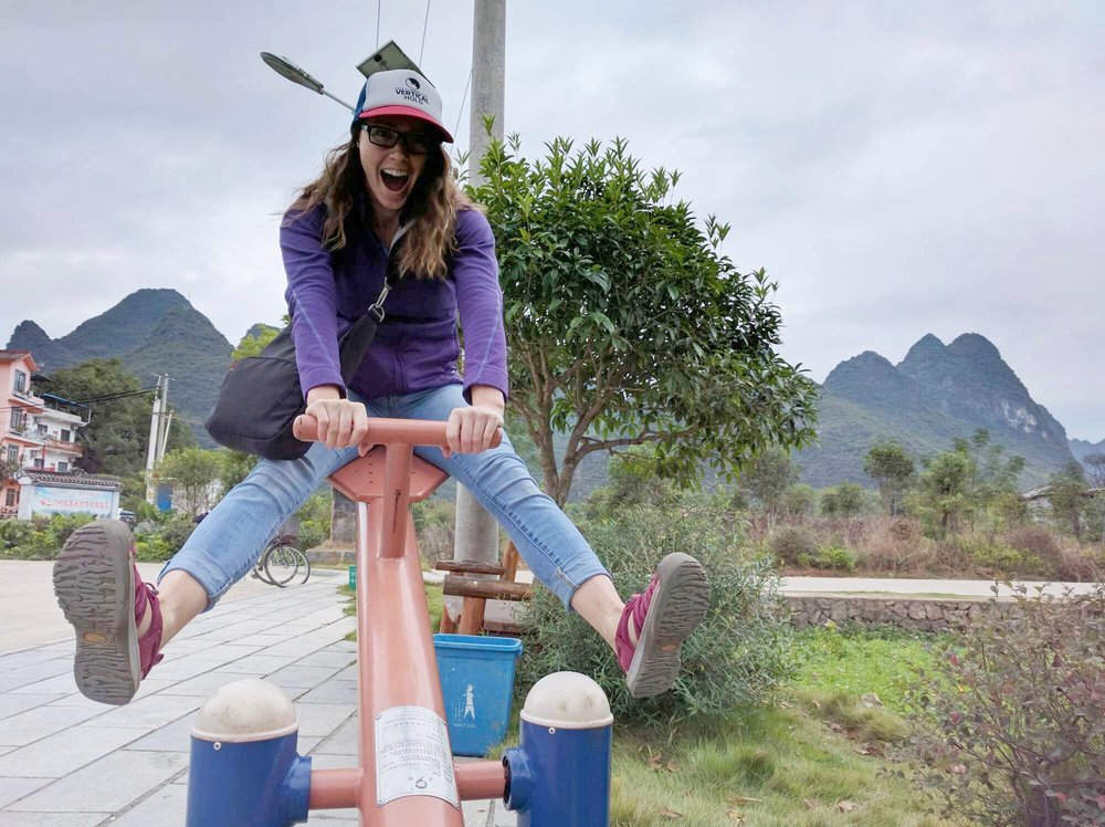 Ann in China
