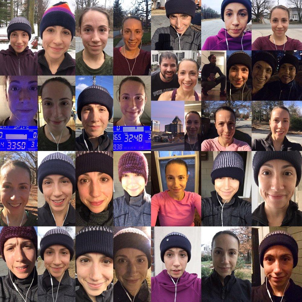 Marcothon 2016, 31 days of running