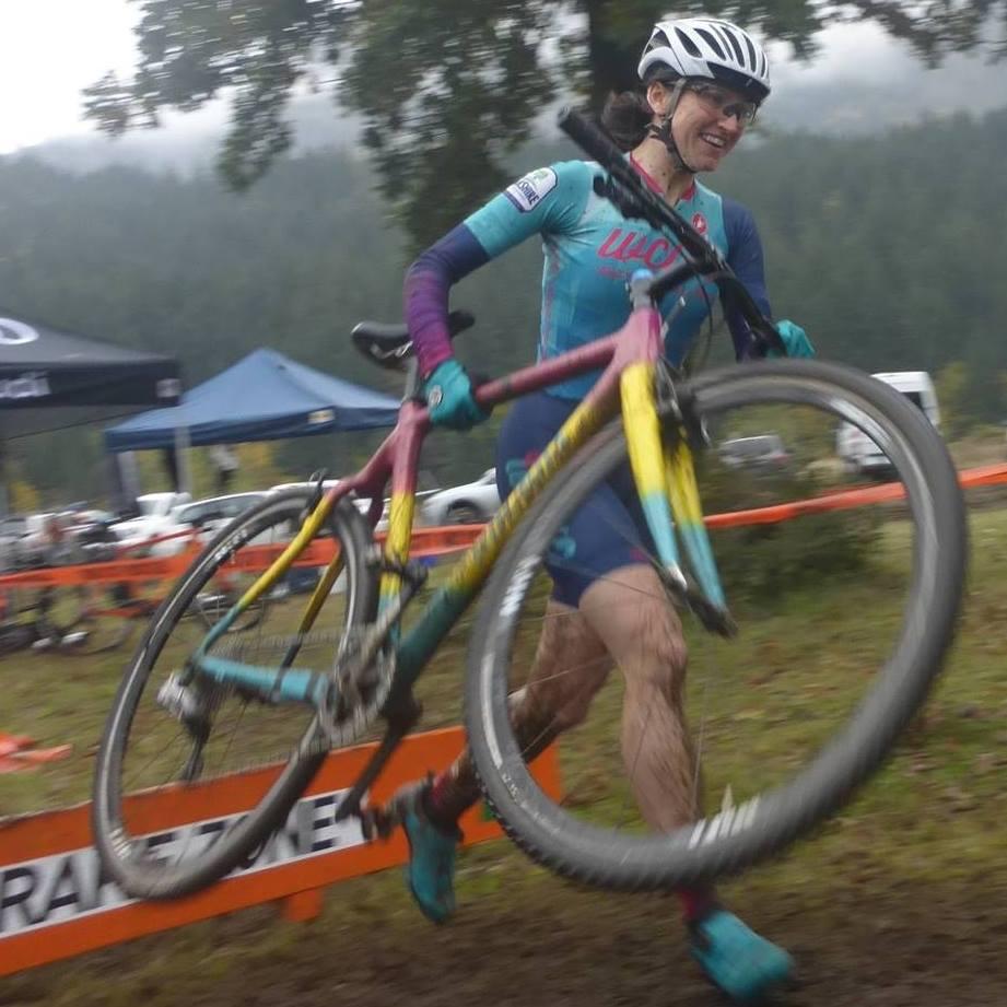Rebecca Hamilton rocking Cyclocross