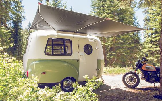 This is a camper I found on gear junkie.  Looking for something the Honda Fit could pull