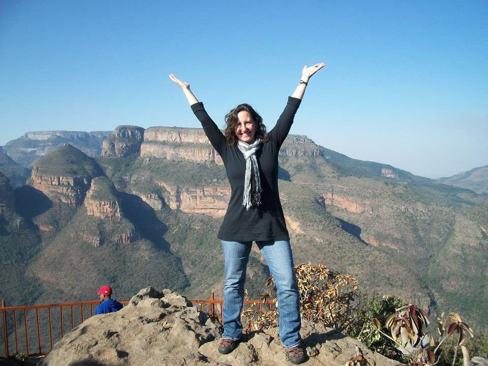 Susan Reinecke in South Africa