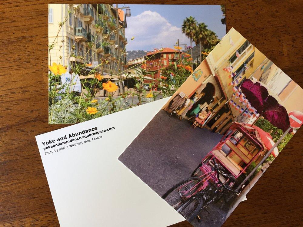 Post Cards Made by Alisha Wielfaert