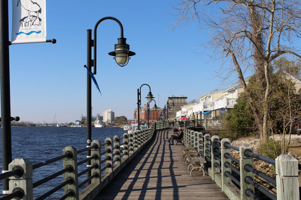Downtown Wilmington, NC Promenade