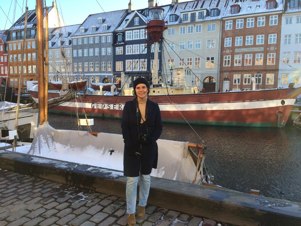 Nyhavn neighborhood in Copenhagen, Denmark.