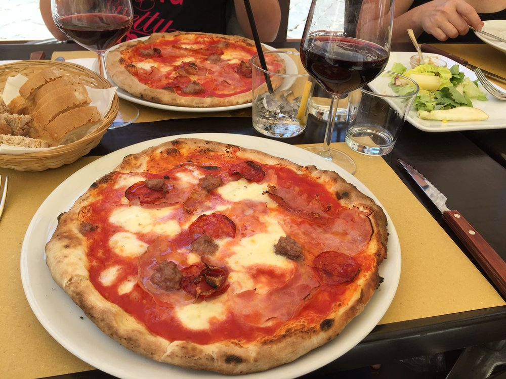 Pizza at Firenze in Florence