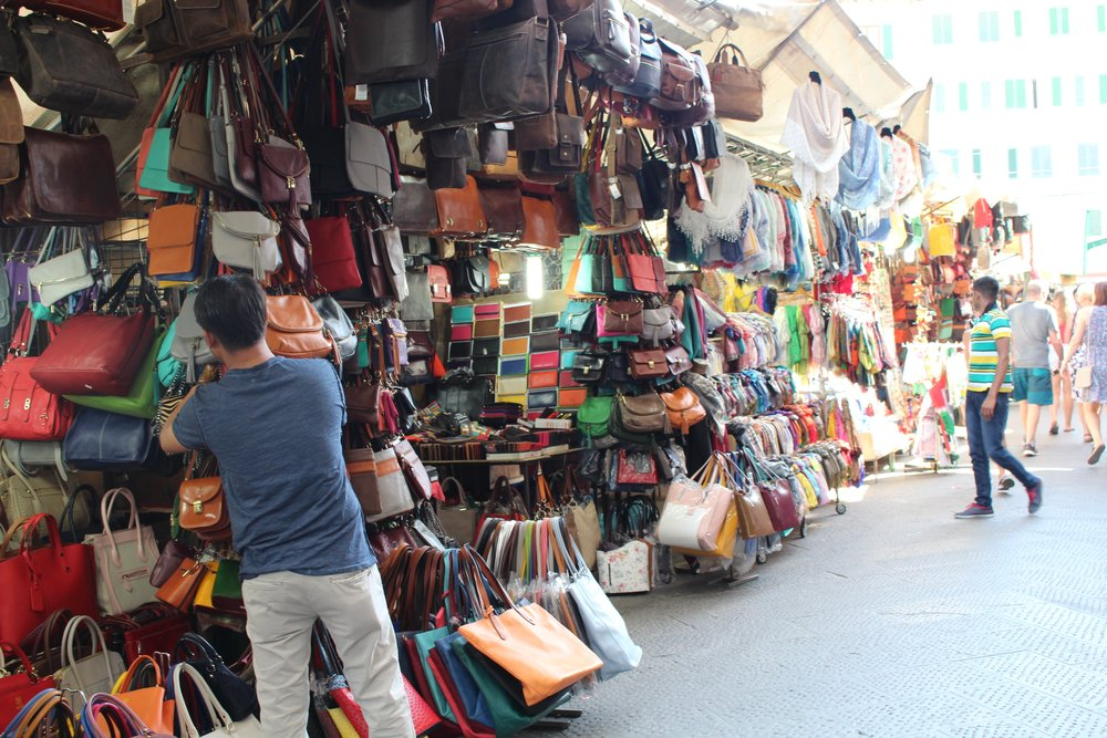 If you head to Florence even if you don't think you're going to buy anything, it might be a good idea to set a leather budget.