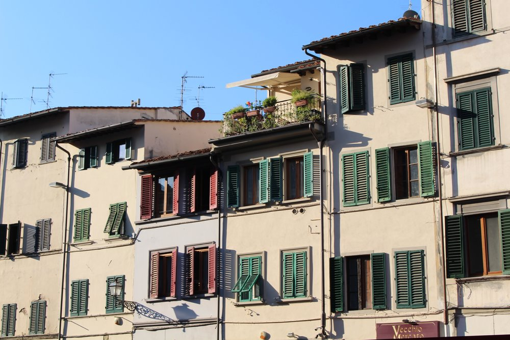 Would you live here?  Homes of Florence, Italy