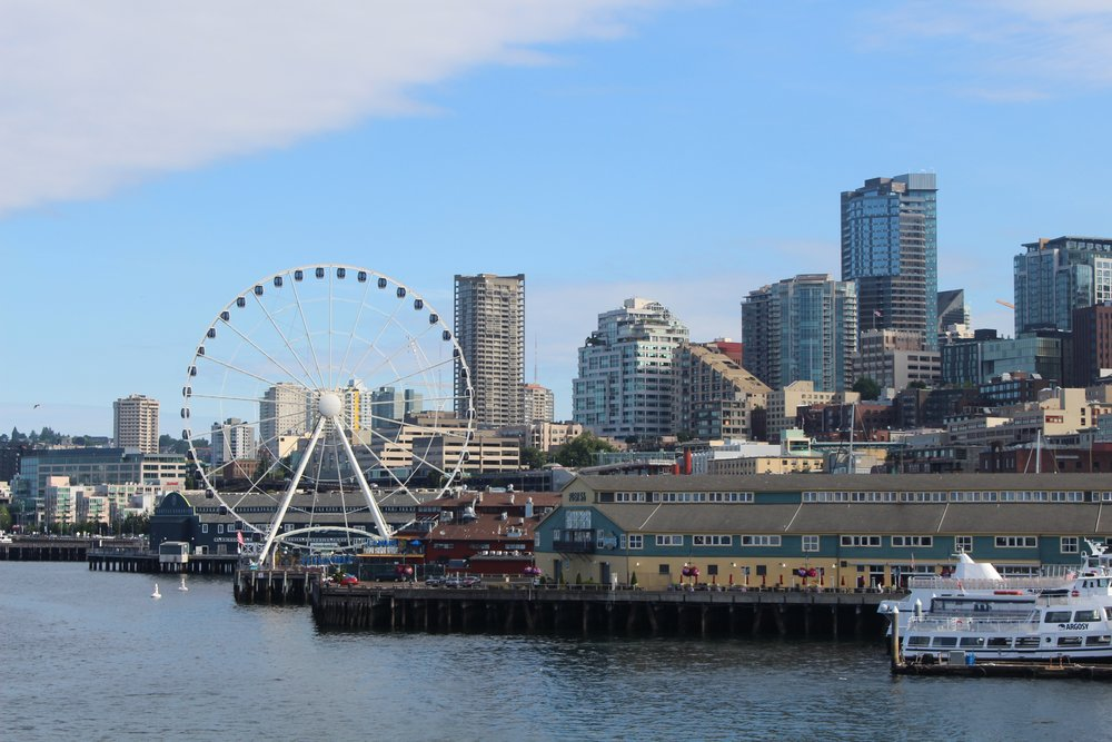 Iconic Seattle Skyline