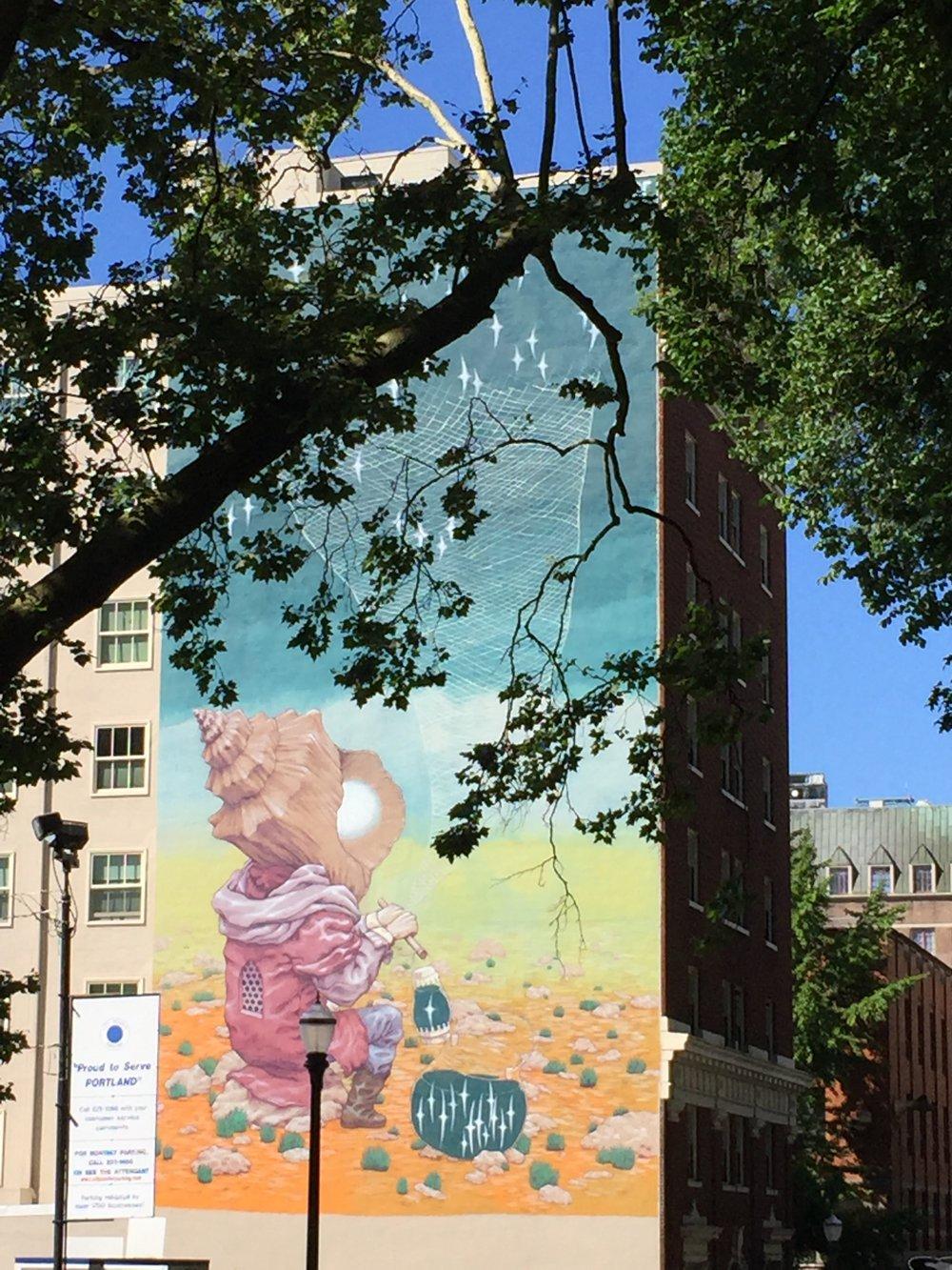 Portland Street Art