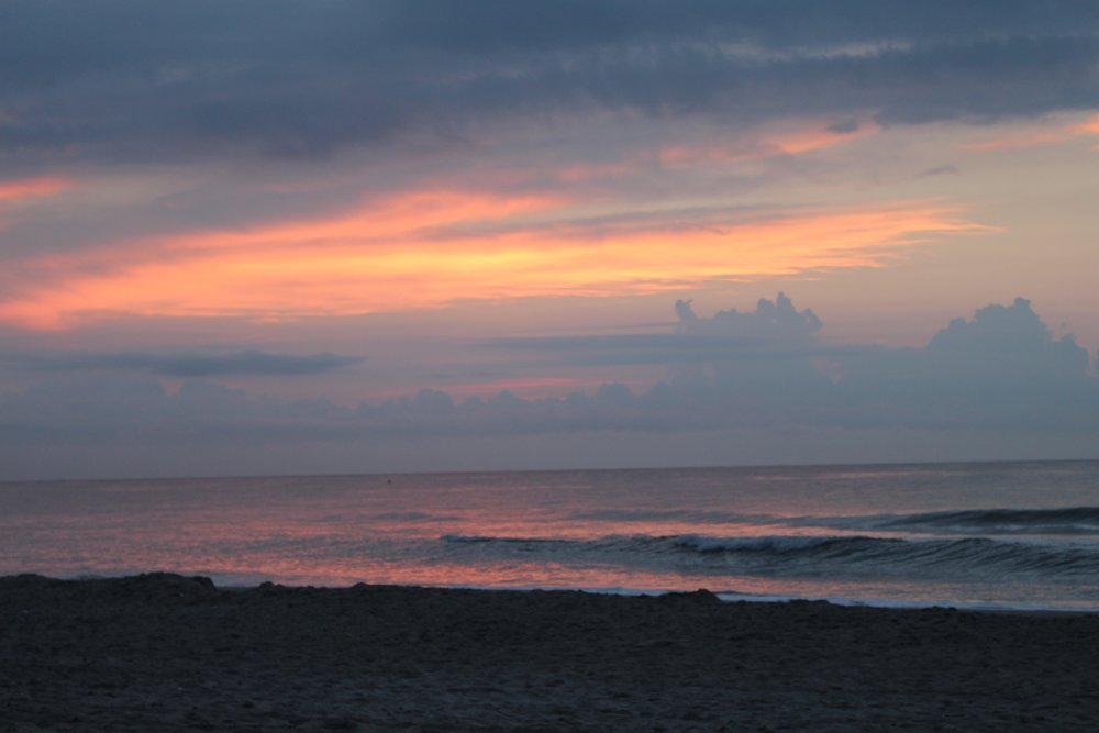 Sun Rise at Carolina Beach
