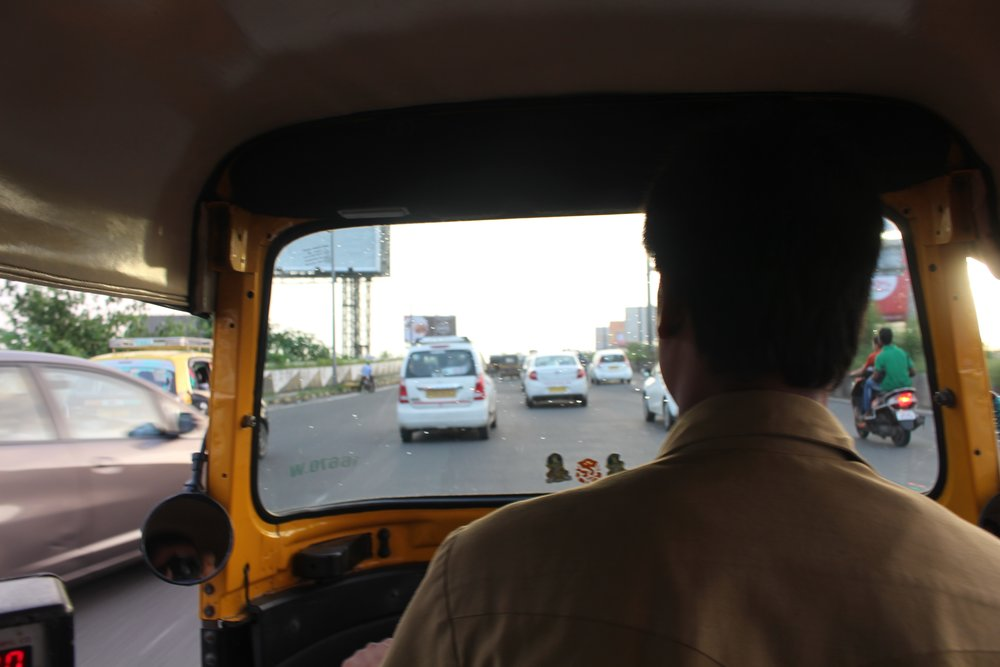 A light traffic day in Bandra