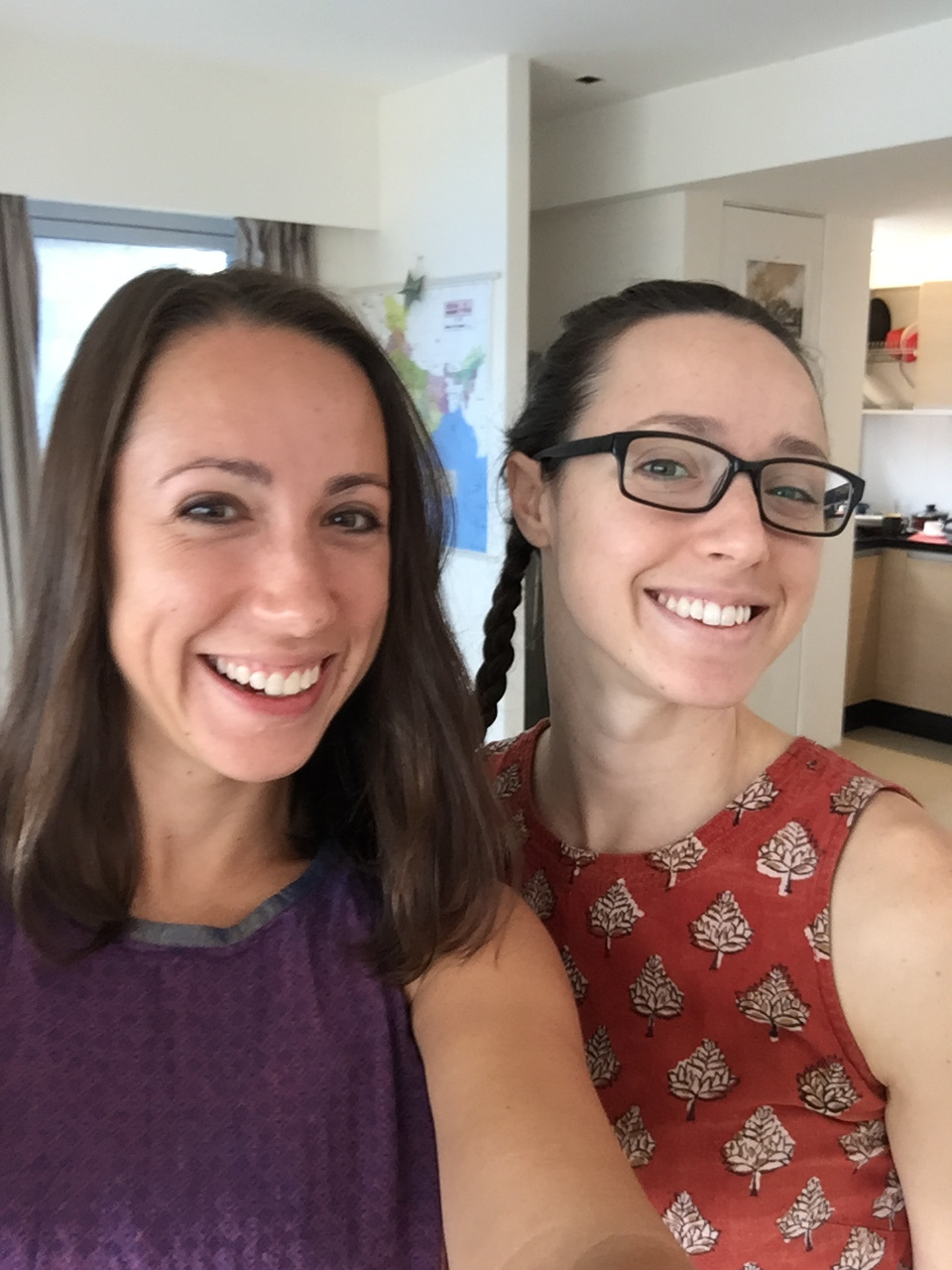 Ann and Alisha do India