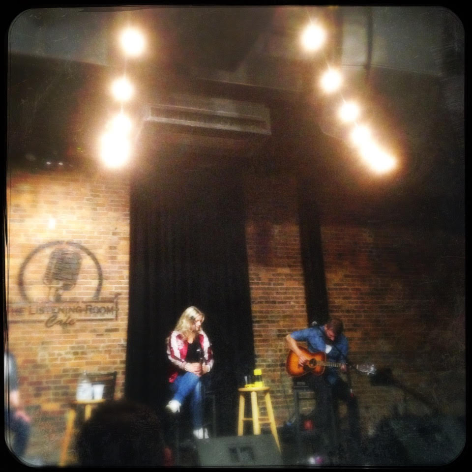 Karin and Goran's duo Thyra playing the Listening Room in Nashville