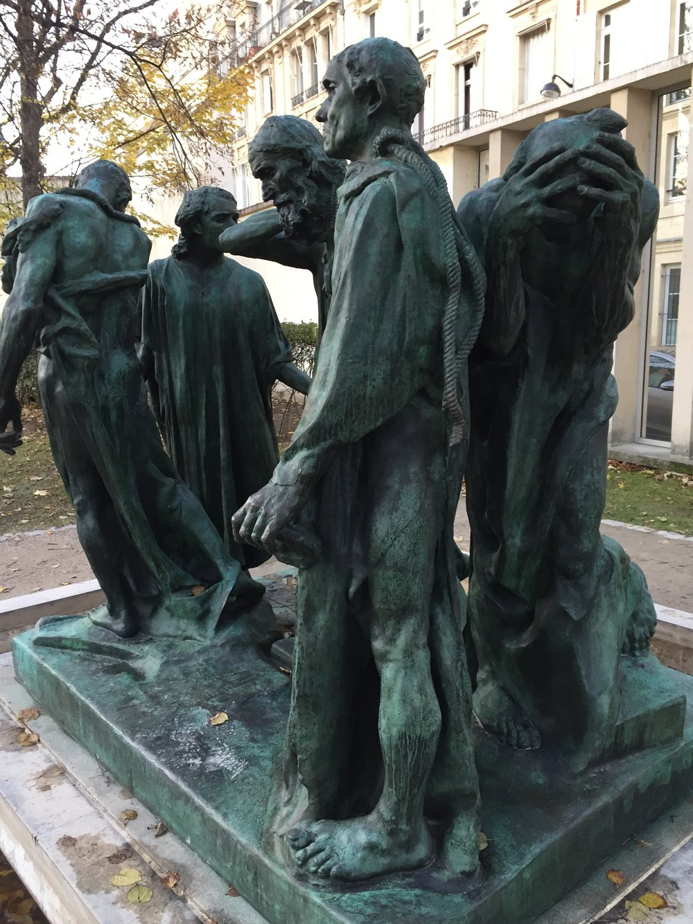 Monument to the Burghers of Calais; Rodin Museum