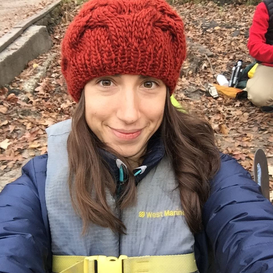 Alisha Wielfaert Kayaking
